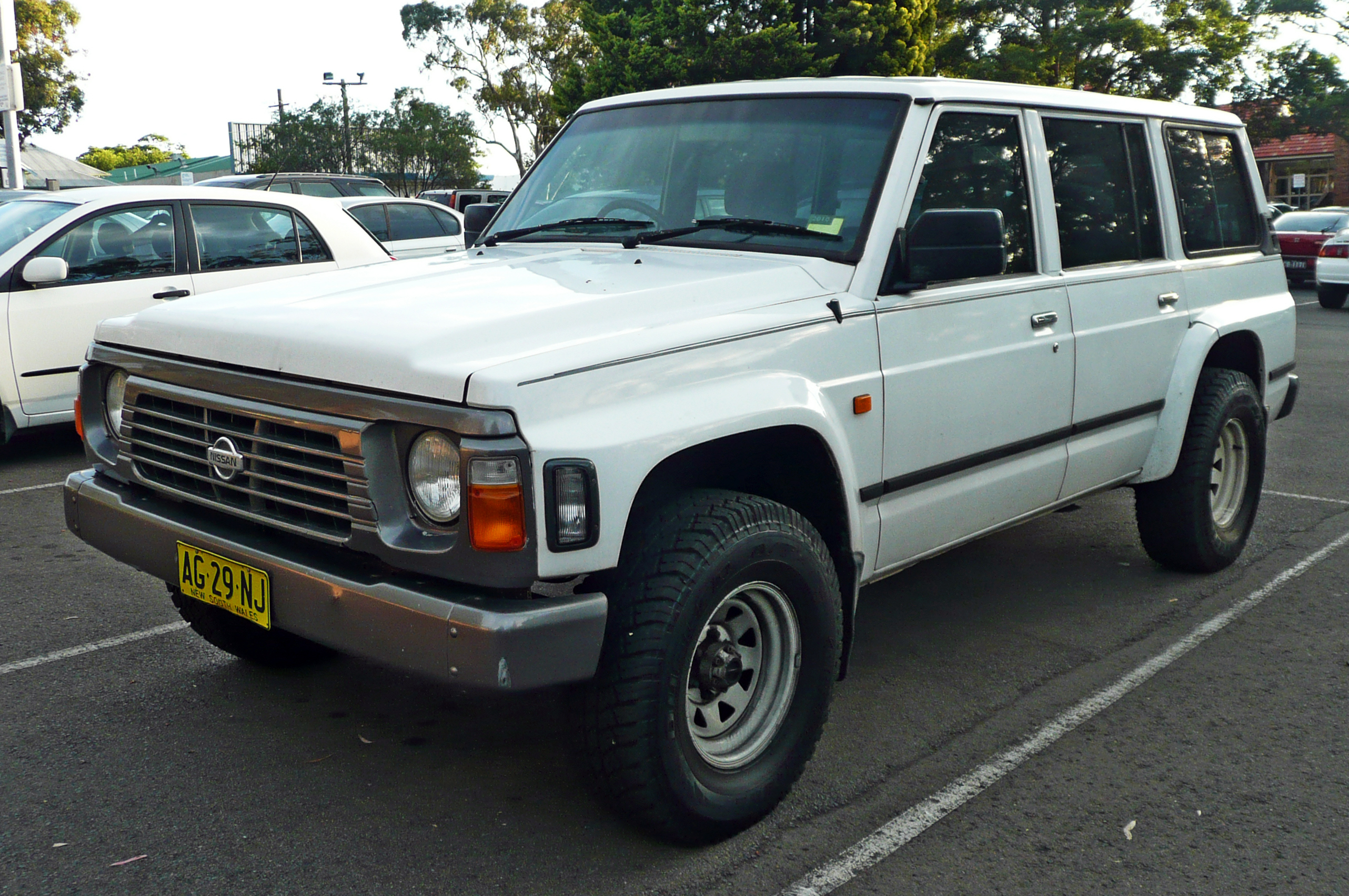 1996 Nissan Patrol Photos Informations Articles