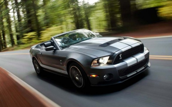 2011 Ford Shelby Gt500 #11