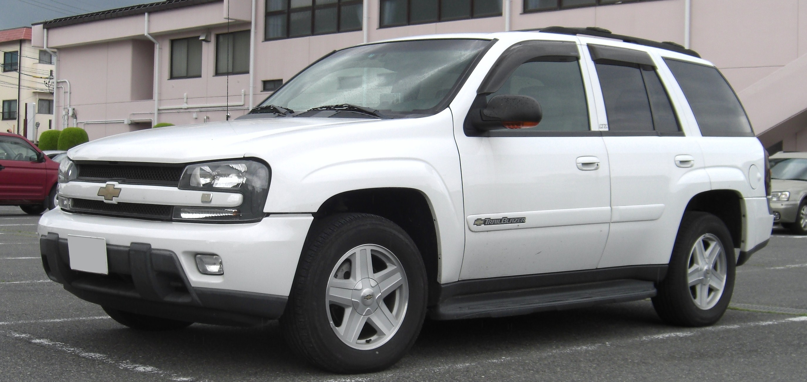 2002 Chevrolet Trailblazer #10