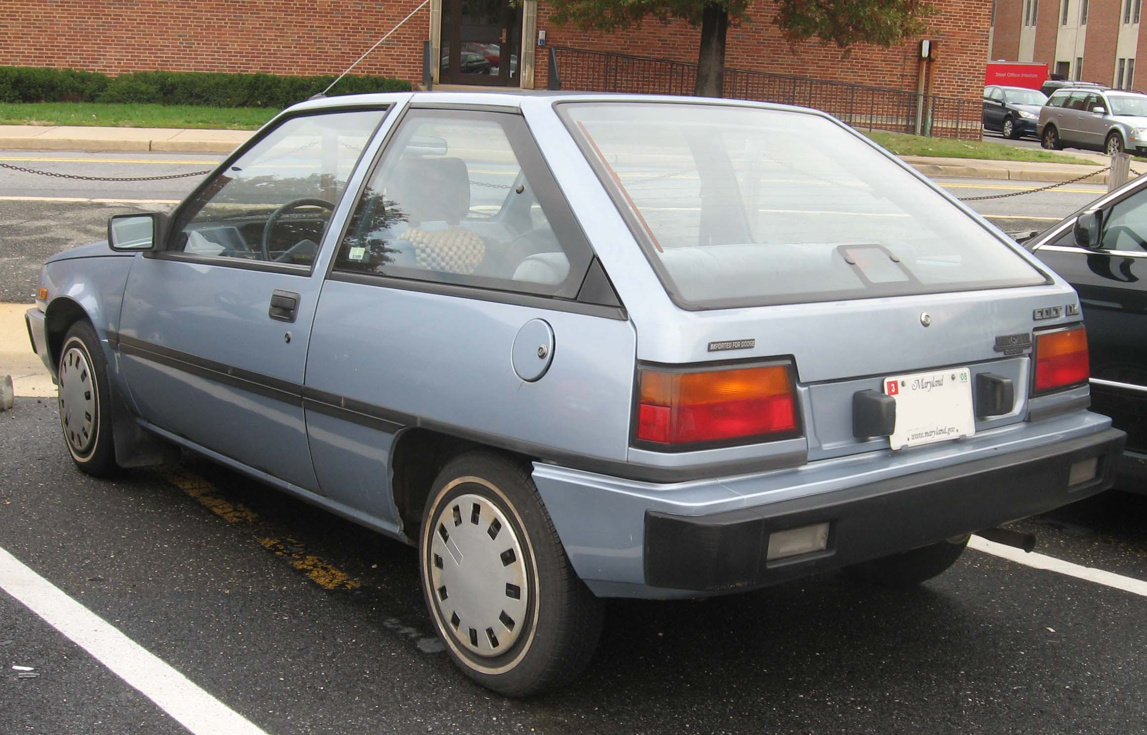 1990 Plymouth Colt #8