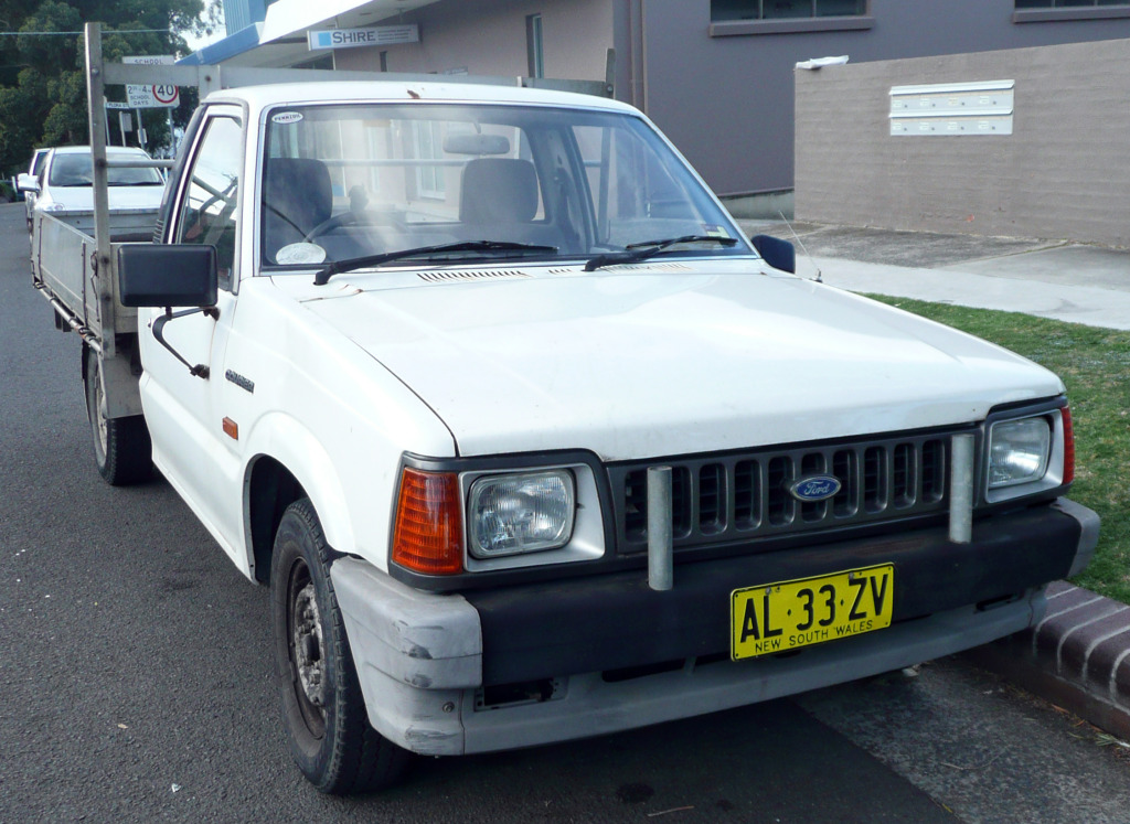 1986 Ford Courier #2