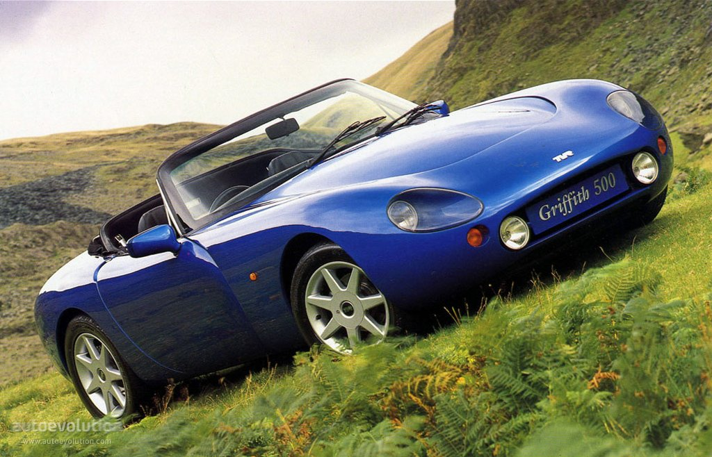 1992 TVR Griffith #3