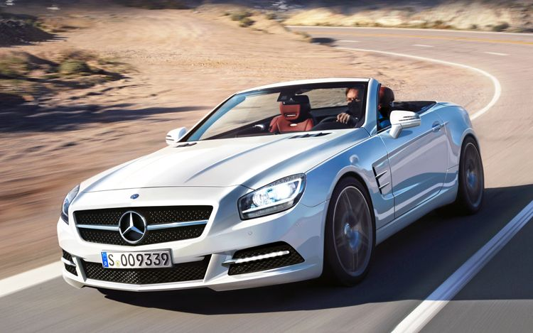 2012 Mercedes-Benz SL #9