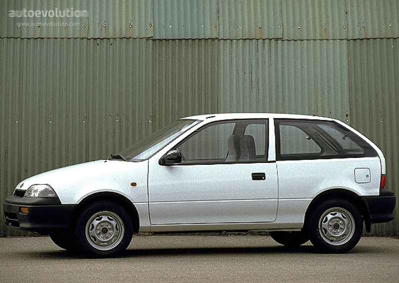 1991 Suzuki Swift #8