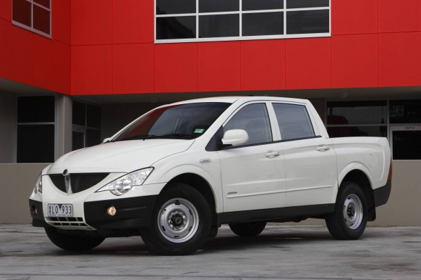 2009 Ssangyong Actyon #5