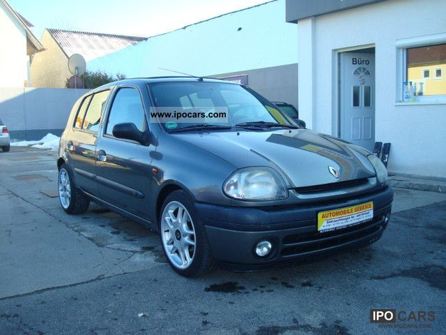 1998 renault clio photos informations articles. Black Bedroom Furniture Sets. Home Design Ideas