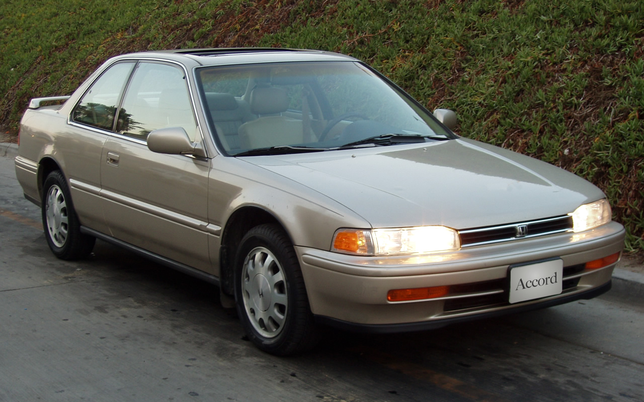 1990 Honda Accord #4