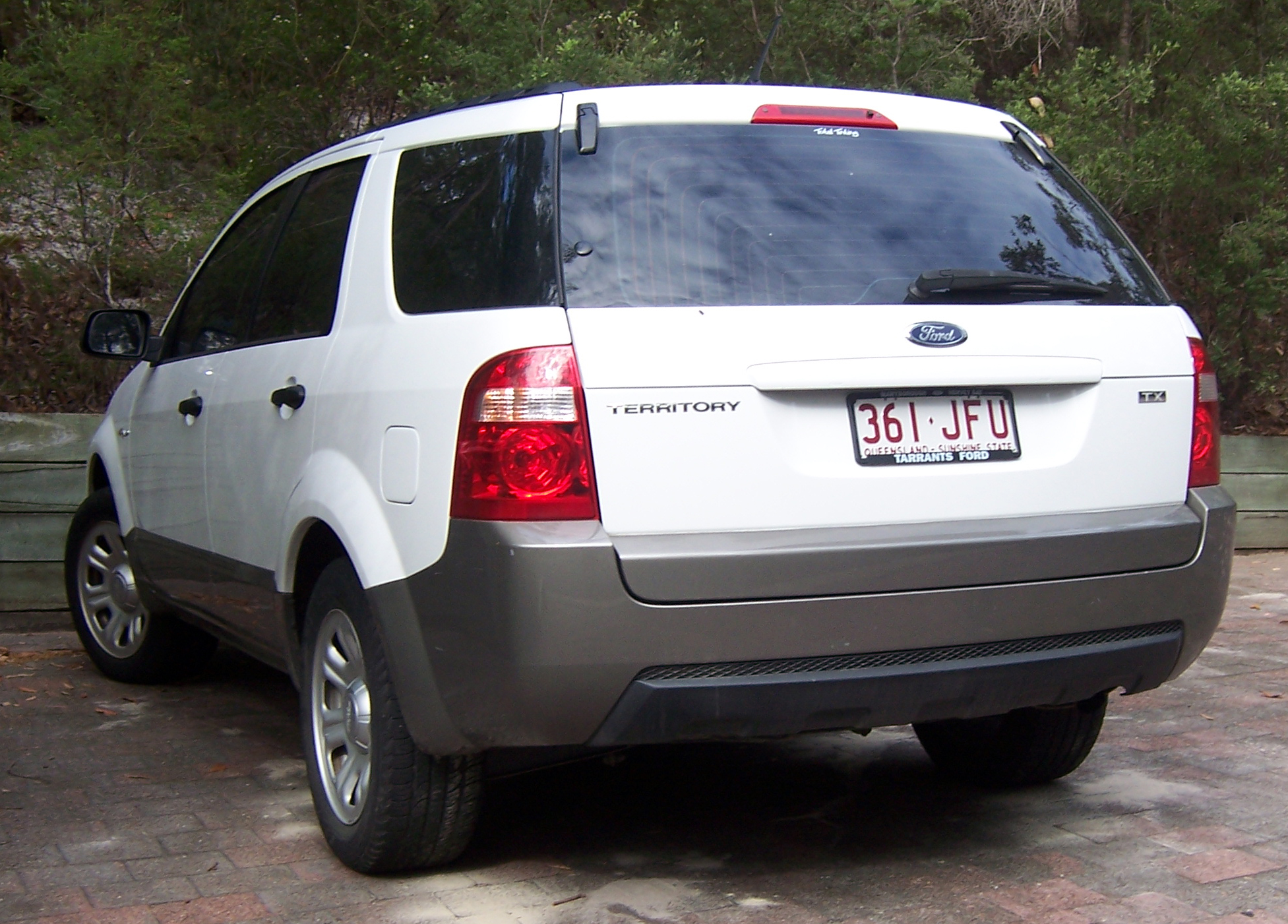 2007 Ford Territory #11