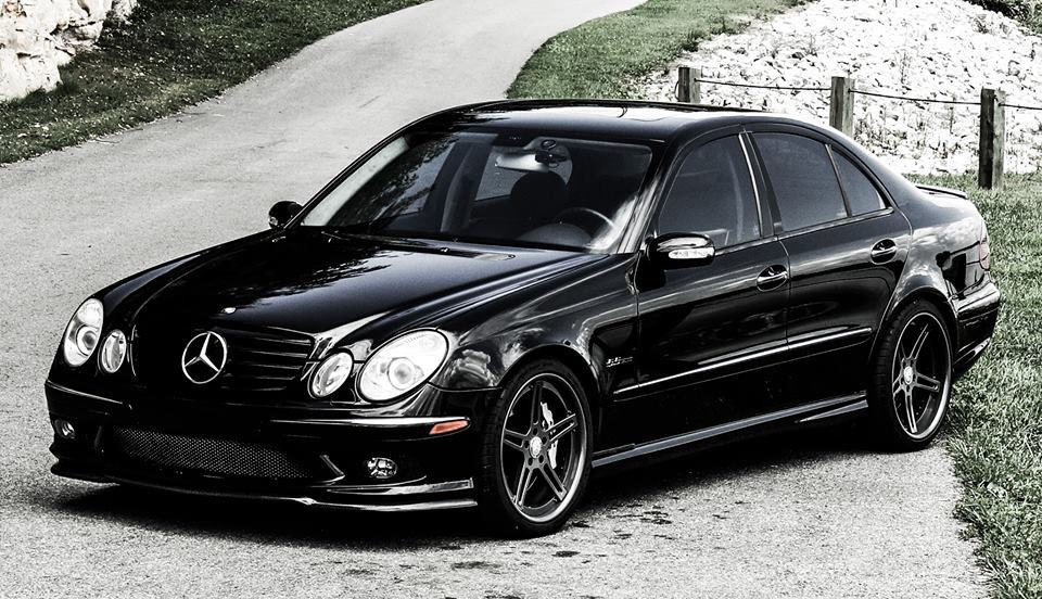 Mercedes benz e55 amg photos informations articles for Mercedes benz e 55 amg