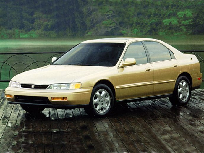1995 Honda Accord #9