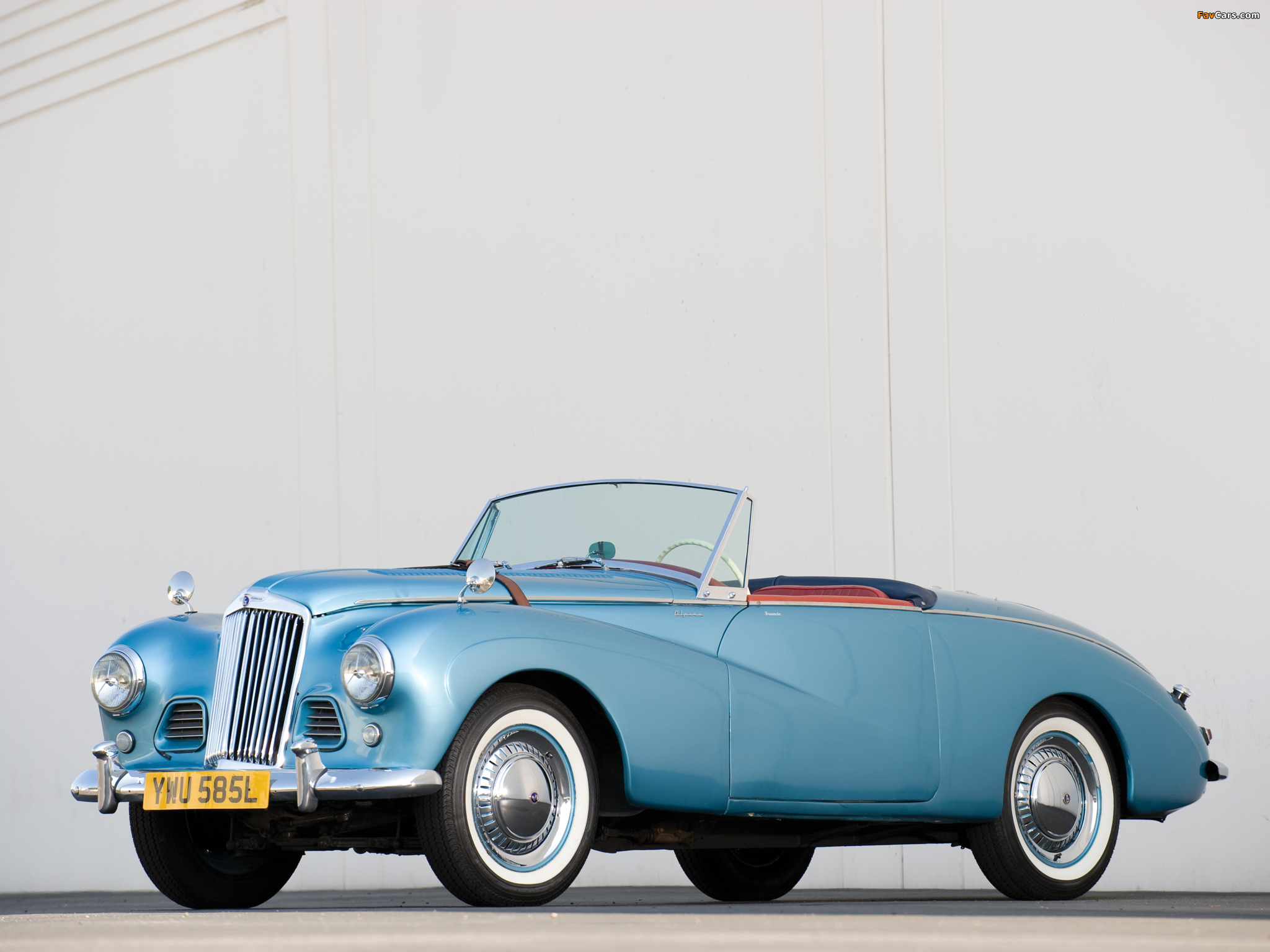 1953 Sunbeam Alpine #16