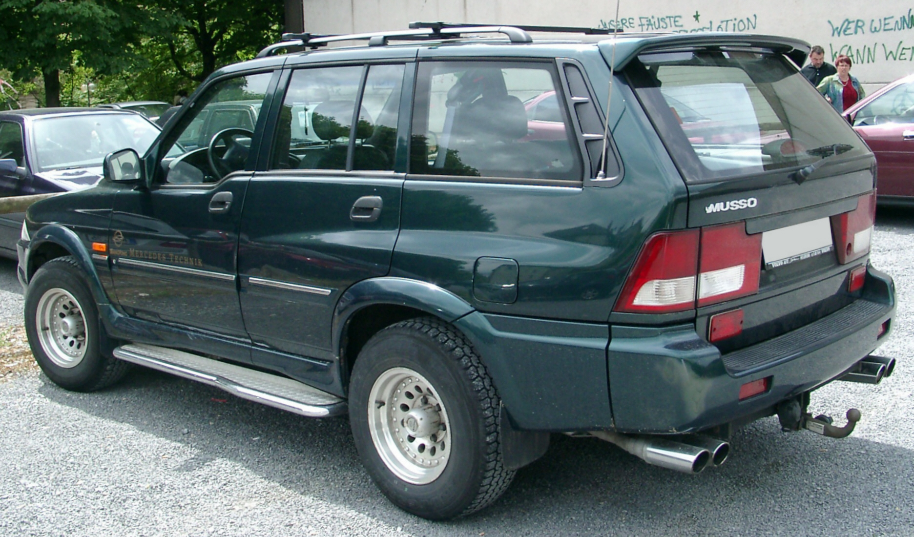 2007 Ssangyong Musso #8
