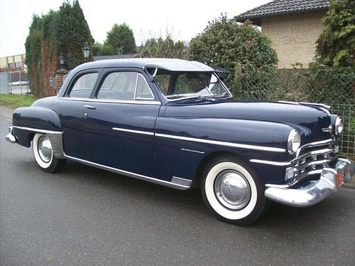 1950 Chrysler Windsor Photos Informations Articles