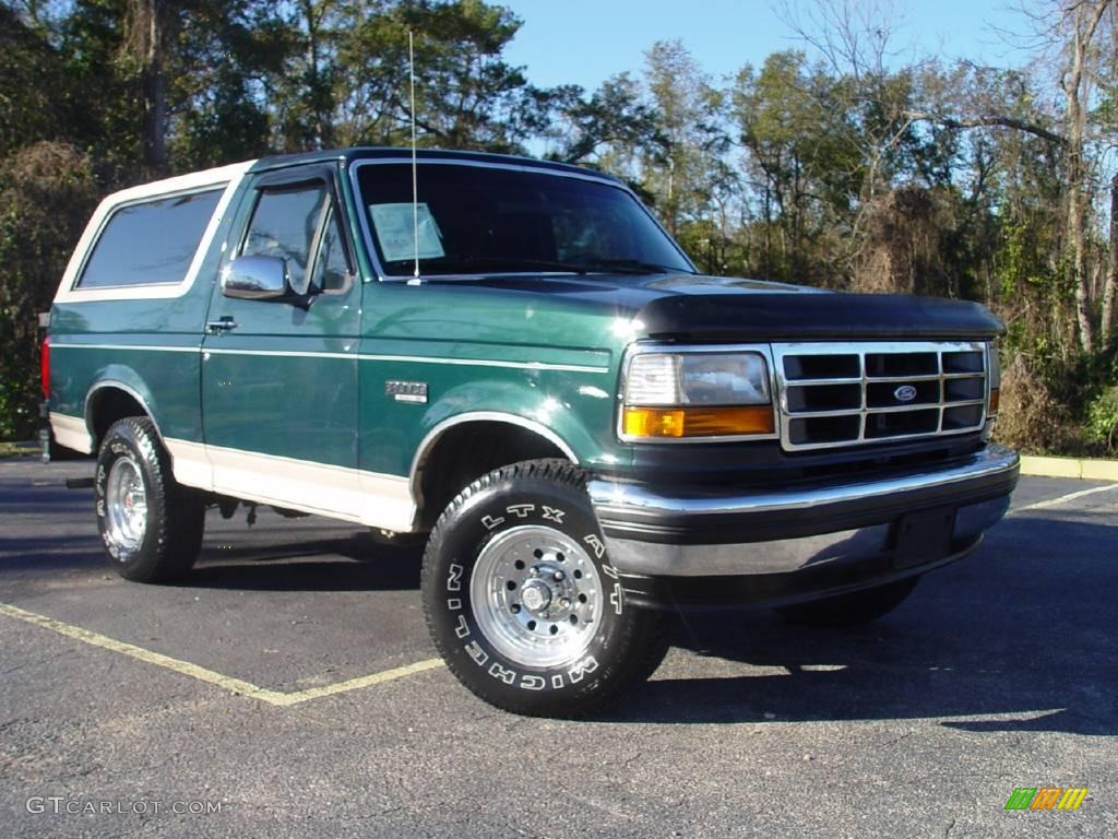 1993 Ford Bronco #4