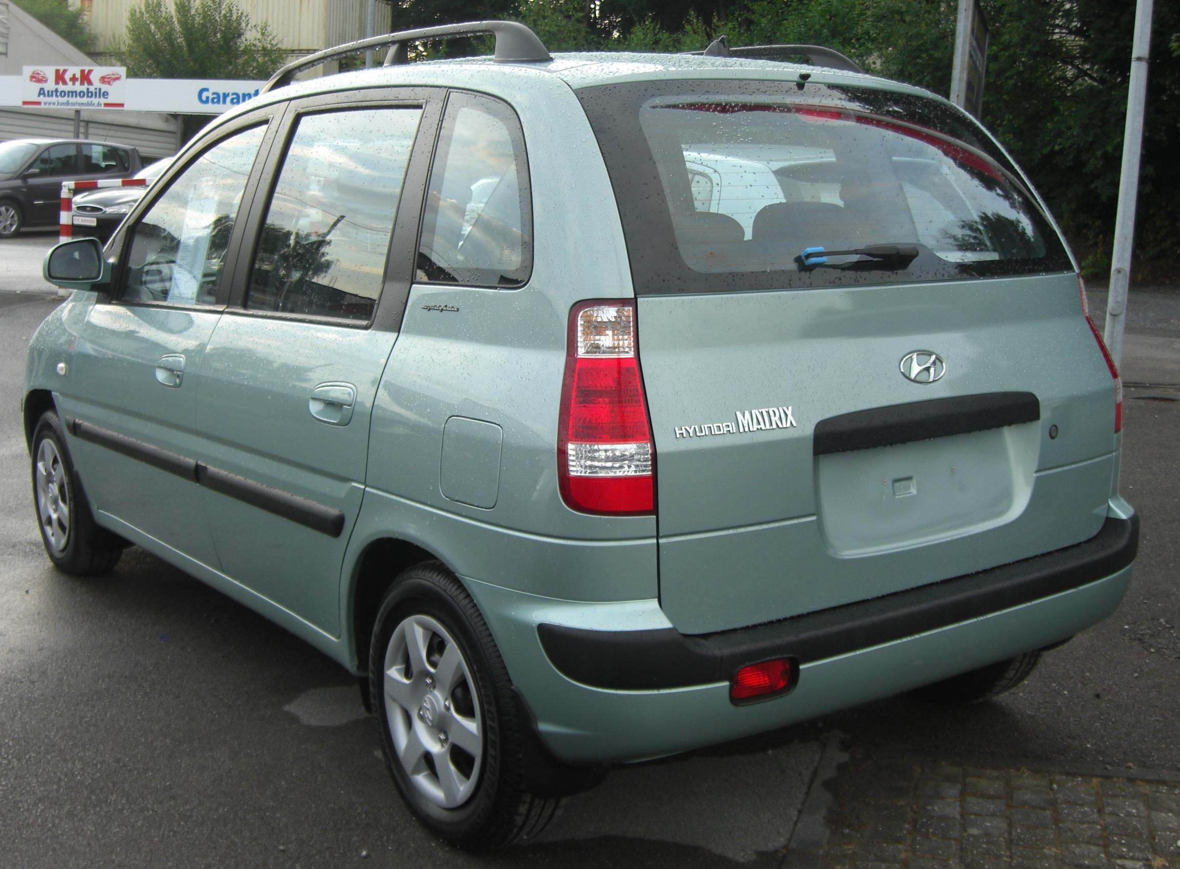 2008 Hyundai Matrix #9