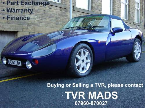 1998 TVR Griffith #10