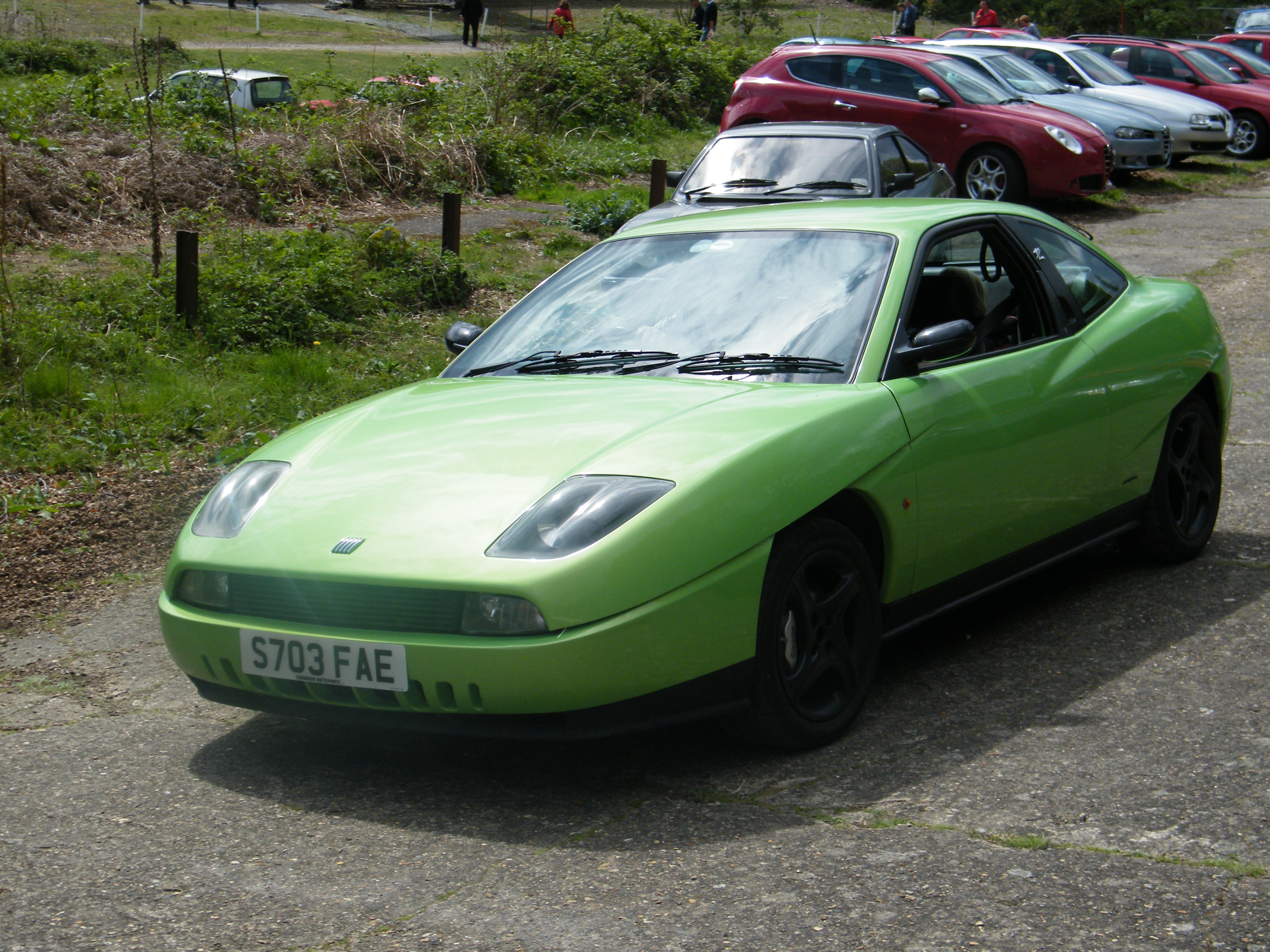 1998 Fiat Coupe #6