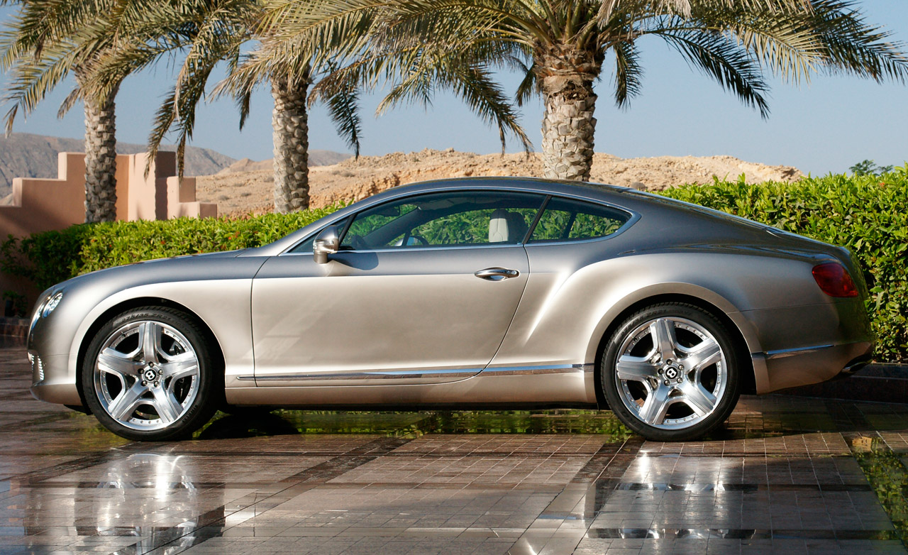 2012 Bentley Continental Gt #4