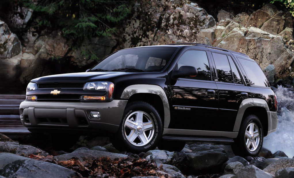 2002 Chevrolet Trailblazer #4
