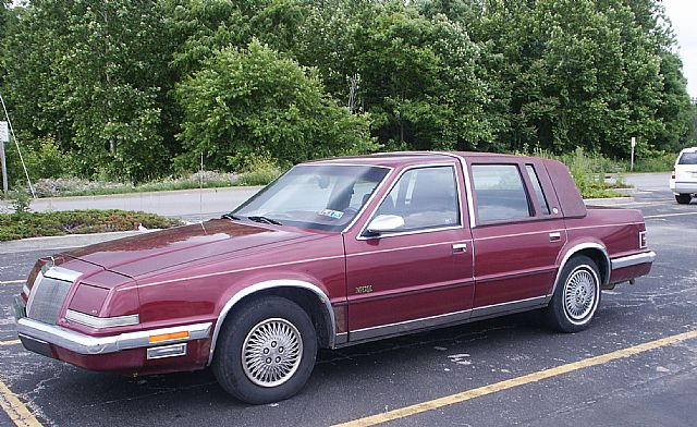 1992 Chrysler Imperial #13