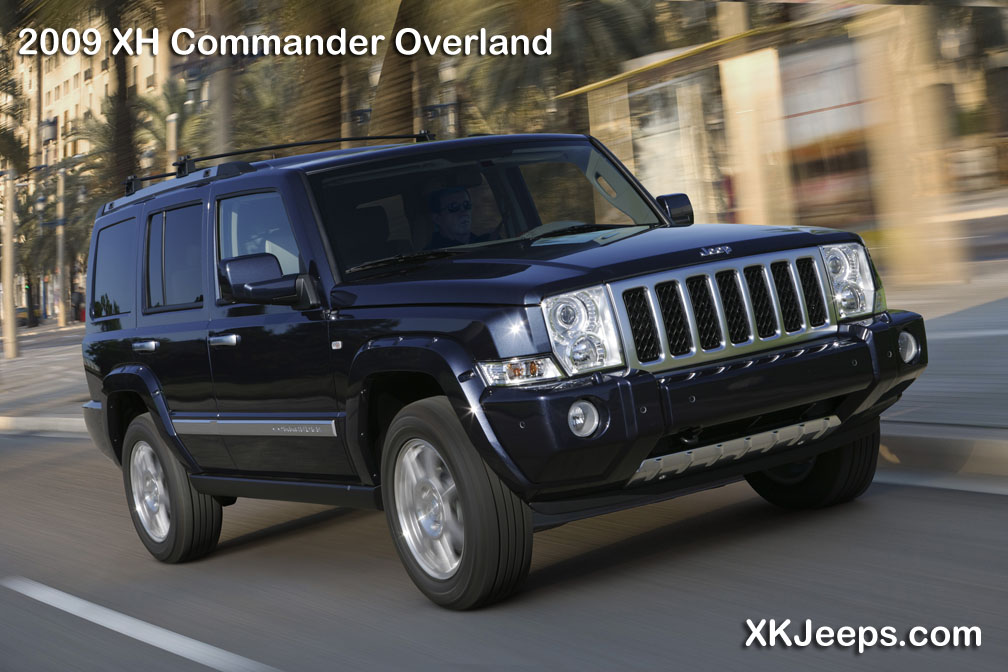 2009 Jeep Commander #5