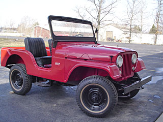 1957 Jeep CJ5 Photos Informations Articles