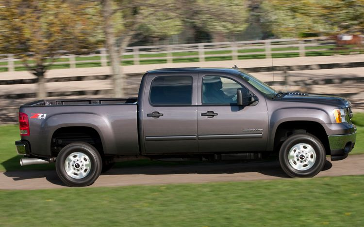 2011 GMC Sierra 2500hd #9
