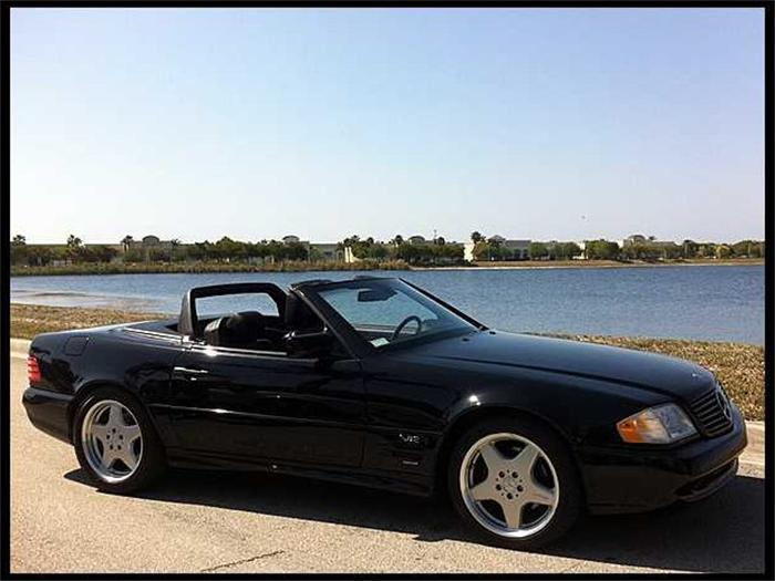 1997 Mercedes-Benz SL #8
