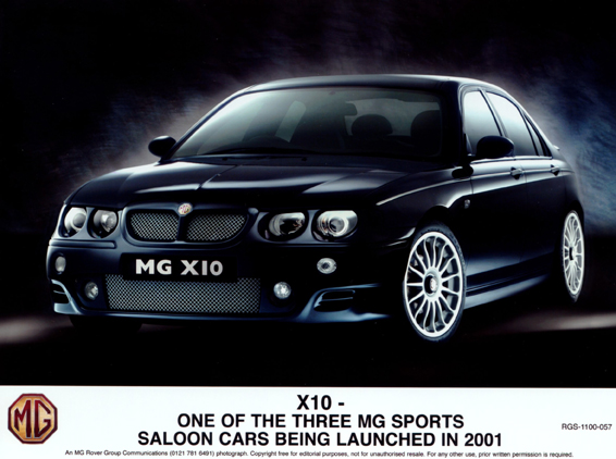 2001 MG Rover #1