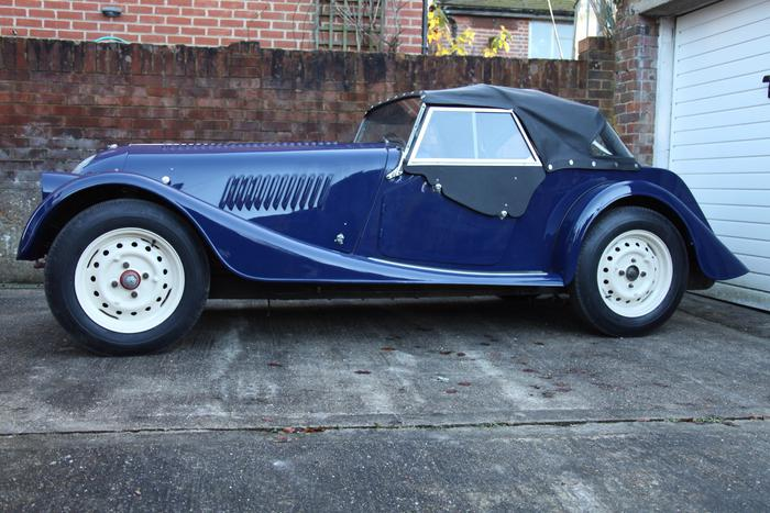 1957 Morgan Plus 4 #6