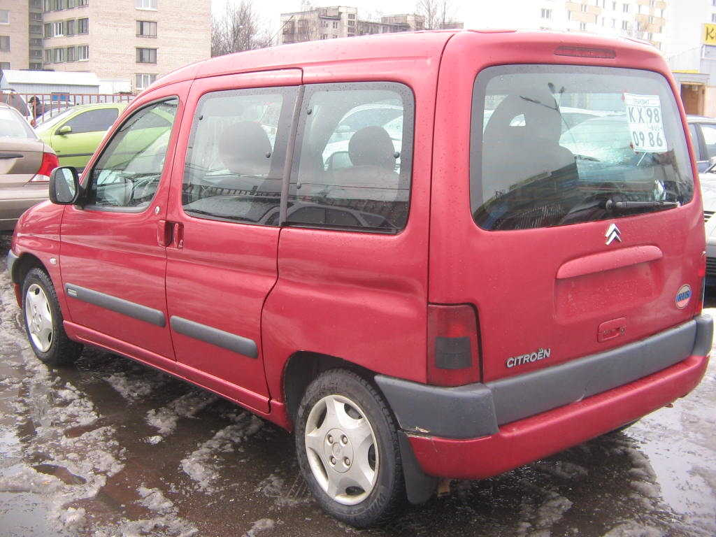 2001 Citroen Berlingo #3
