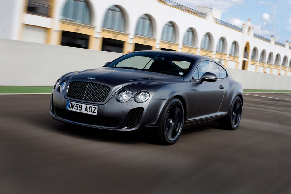 2012 Bentley Continental Supersports #5