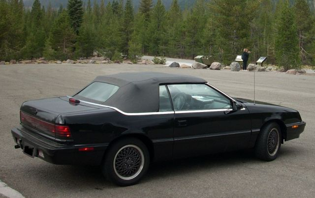 1991 Chrysler Le Baron #8
