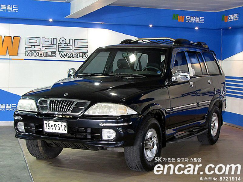 2003 Ssangyong Musso #11