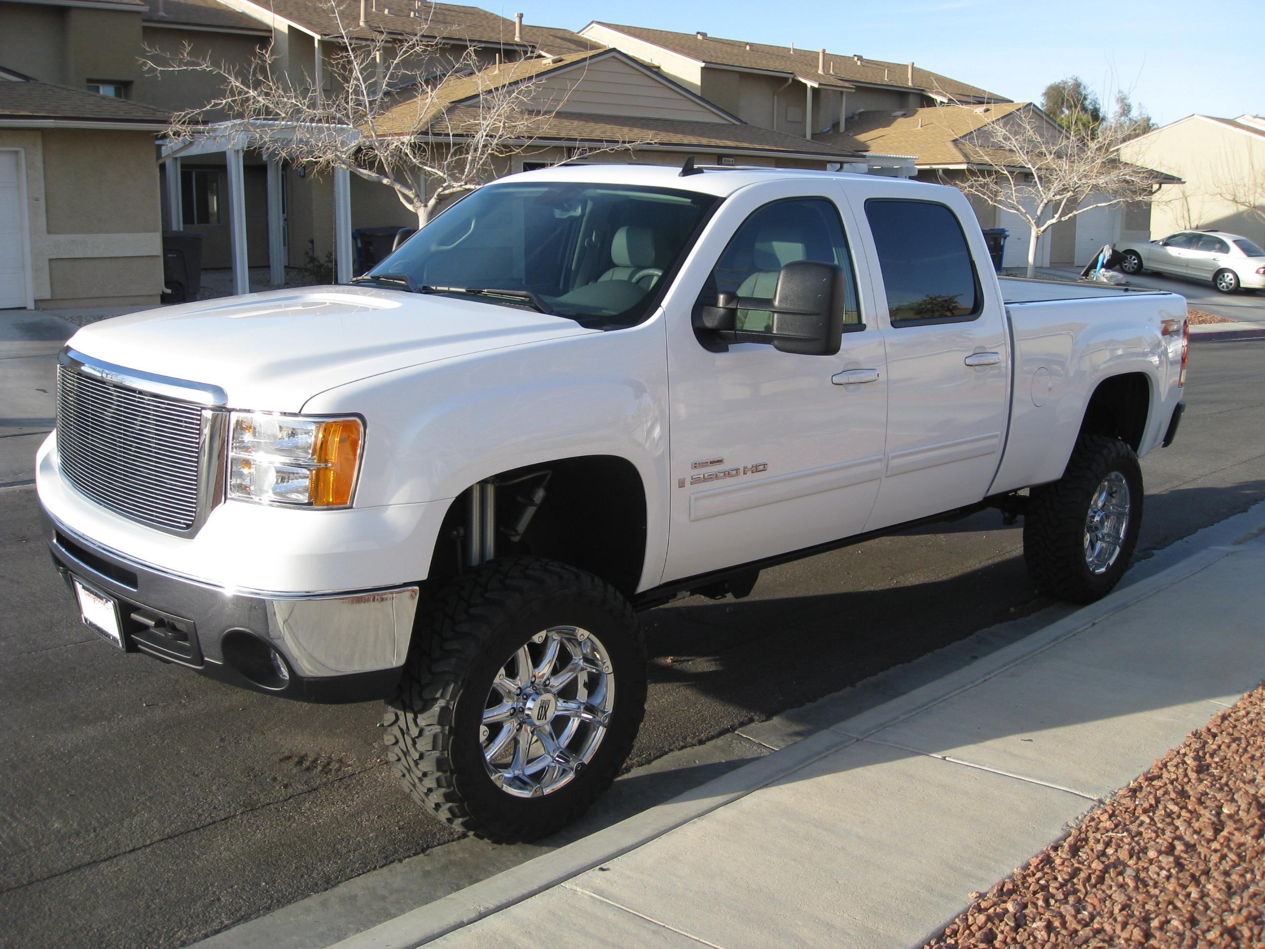 2008 GMC Sierra 2500hd #7
