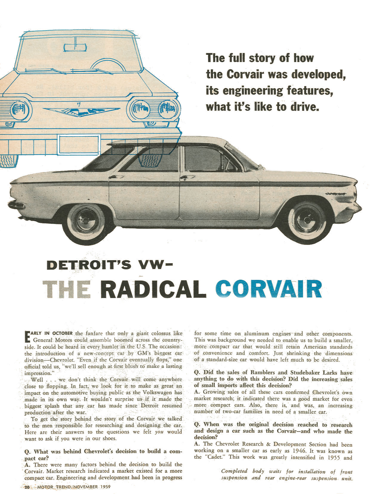 1959 Chevrolet Corvair #9