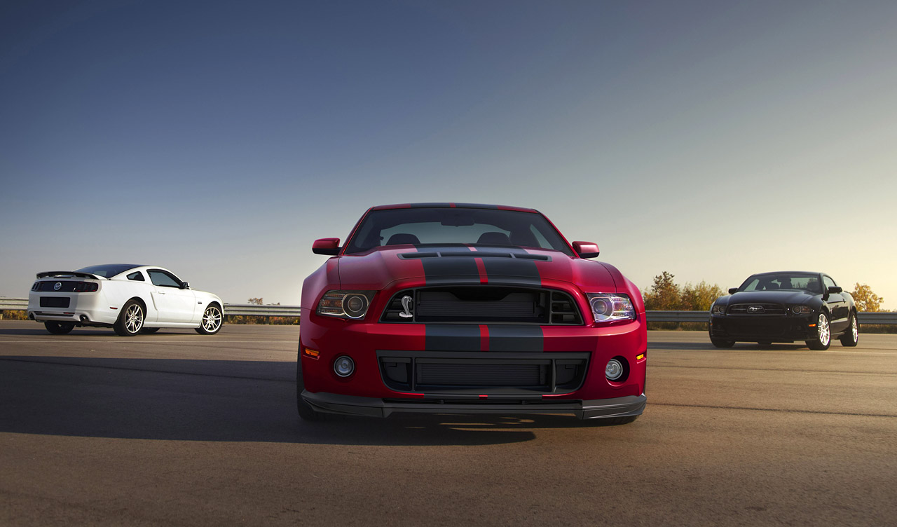2014 Ford Shelby Gt500 #7