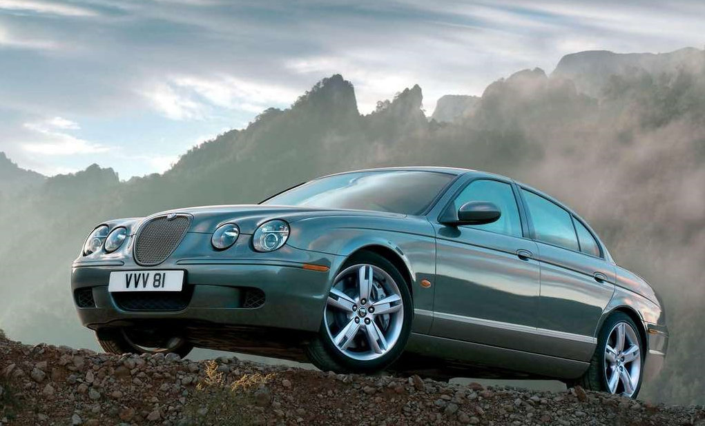 2005 Jaguar S-type #9