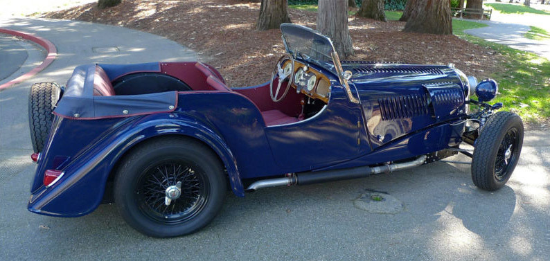 1957 Morgan Plus 4 #16