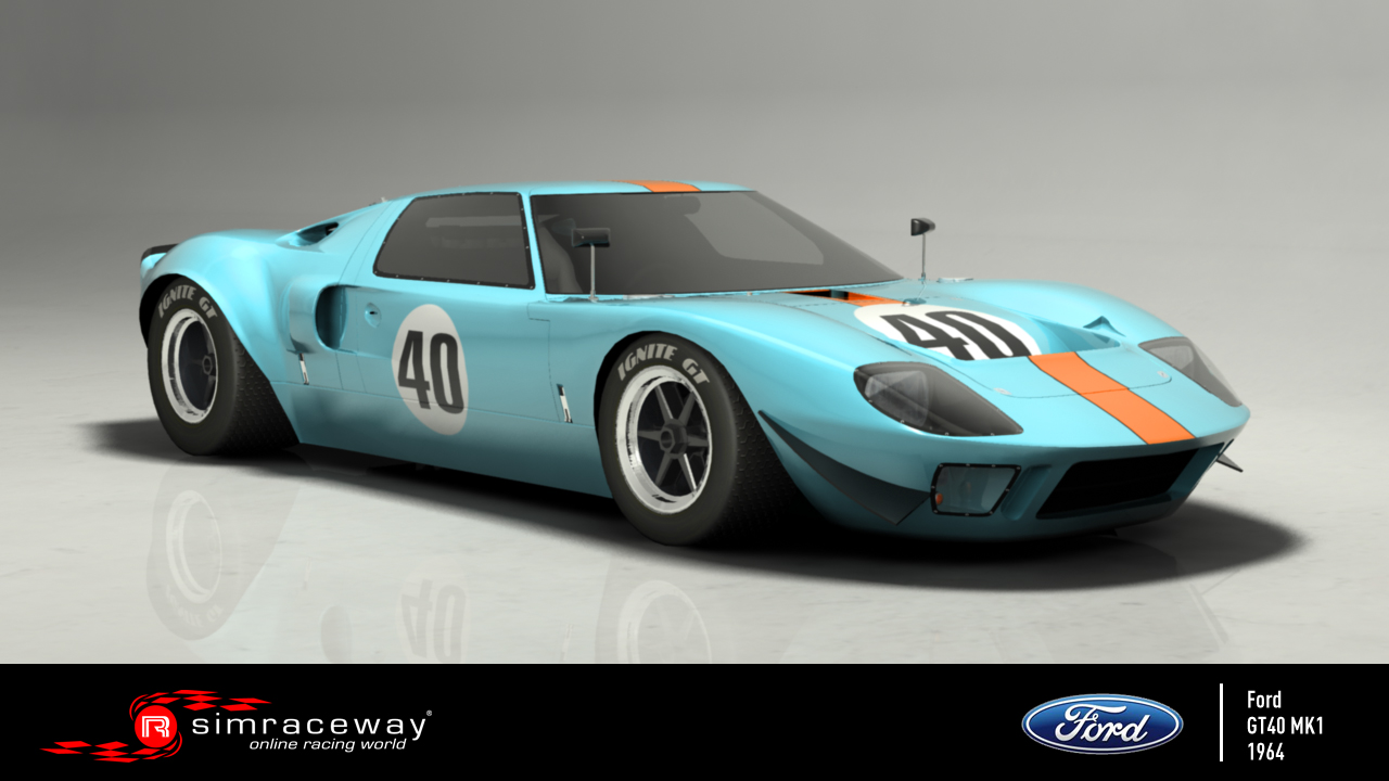 1964 Ford GT 40 #12