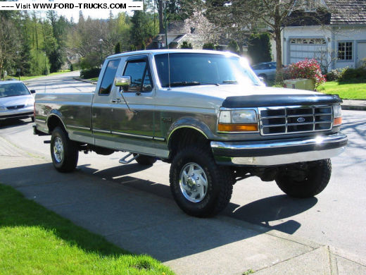 1992 Ford F-250 #4