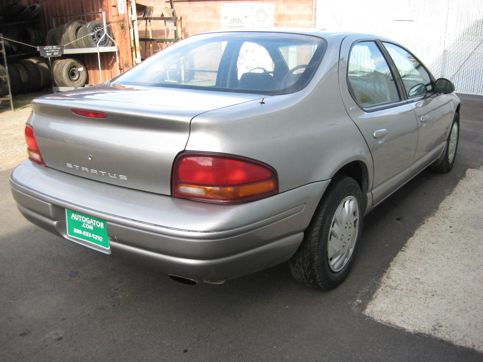1998 Dodge Stratus Photos Informations Articles