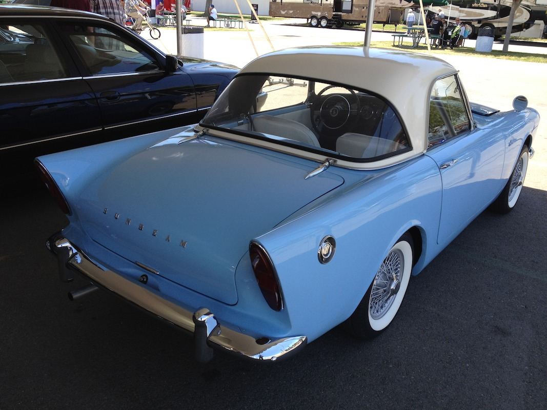 1962 Sunbeam Alpine #18