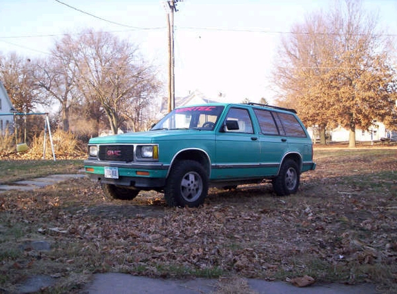 1992 GMC Jimmy #12