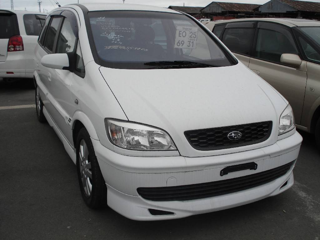 2005 Subaru Traviq #12