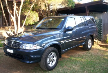 2005 Ssangyong Musso #3