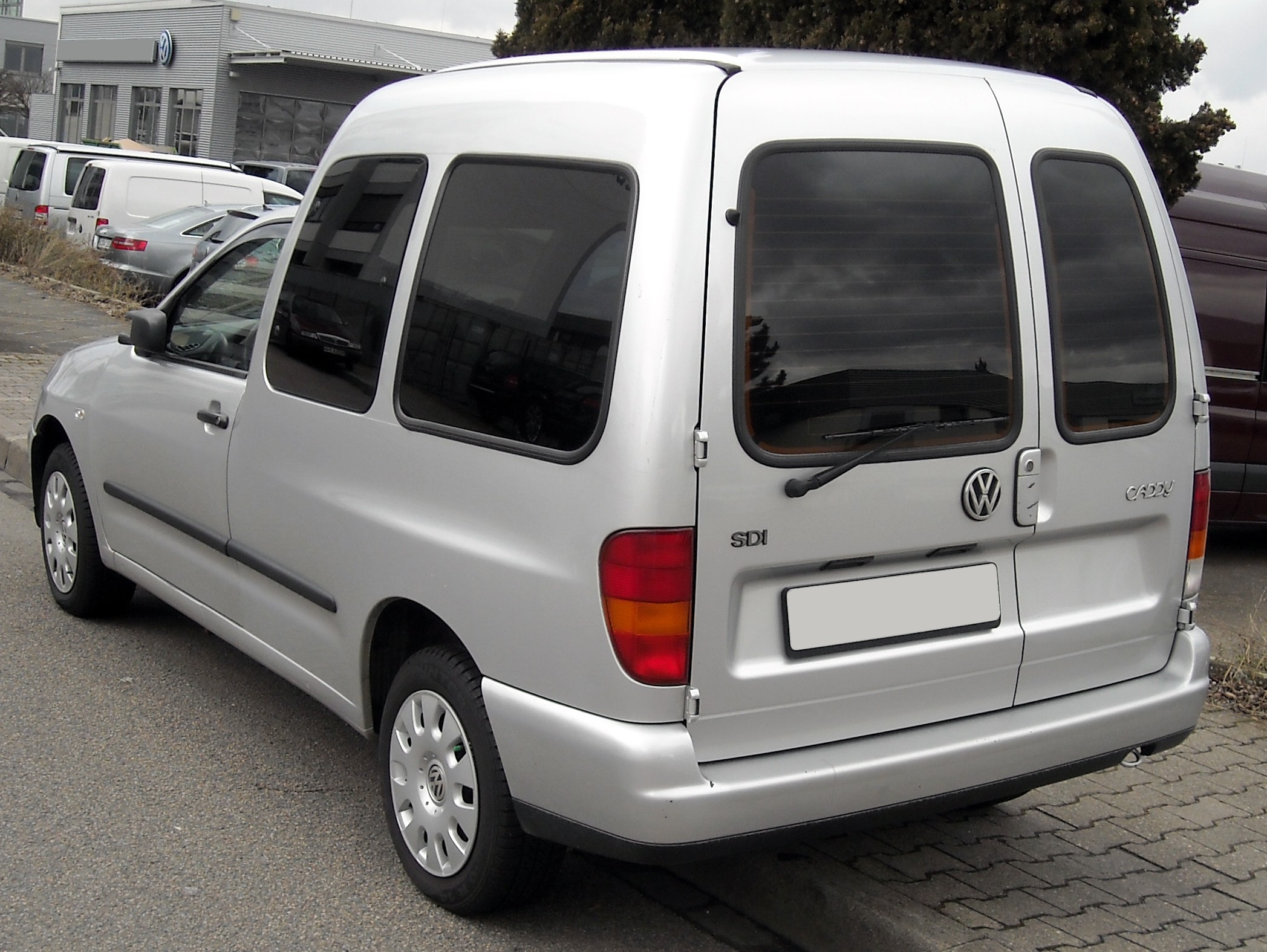 2000 Volkswagen Caddy #9