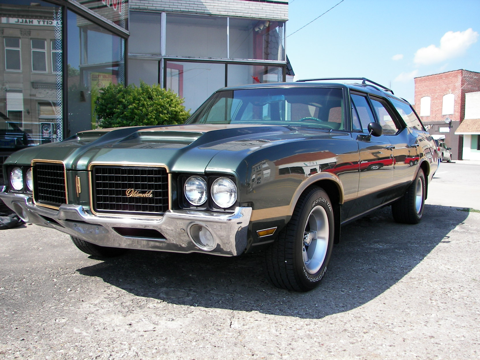1972 Oldsmobile Vista Cruiser #16