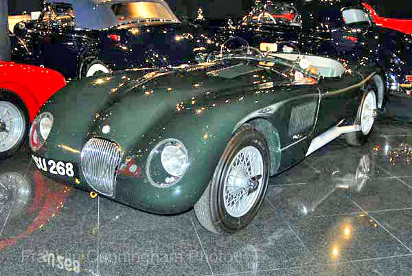 1951 Jaguar C-Type #17