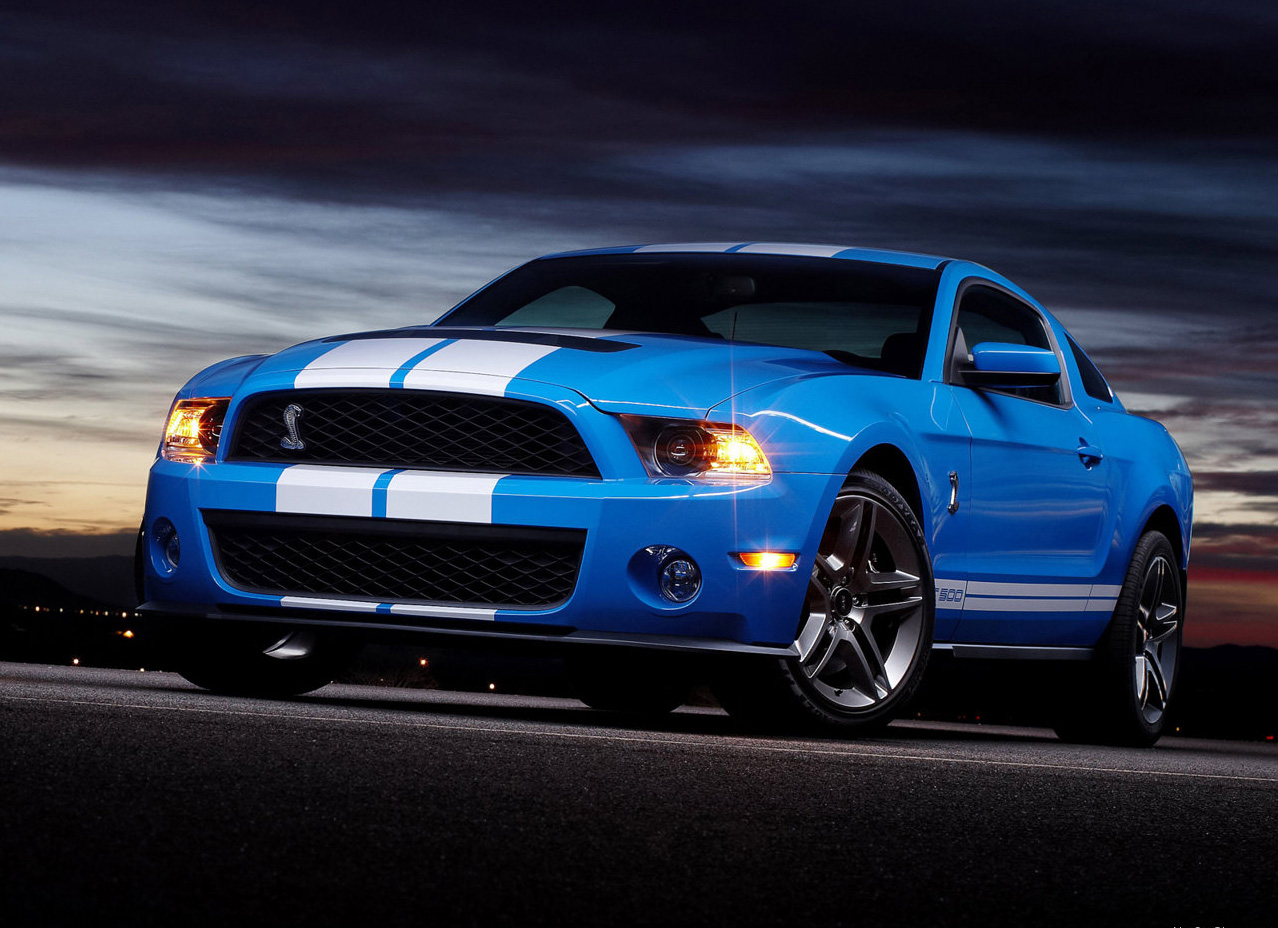 2010 Ford Shelby GT 500 #6